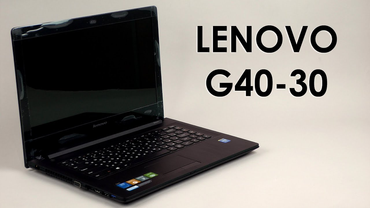 Распаковка Lenovo G4030  YouTube