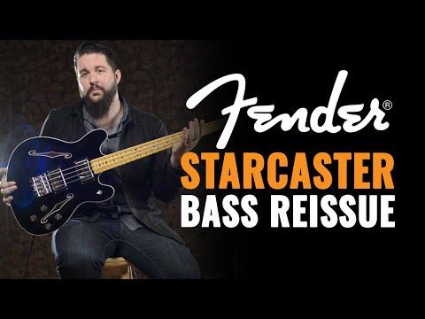 NEW Fender Starcaster Bass Reissue