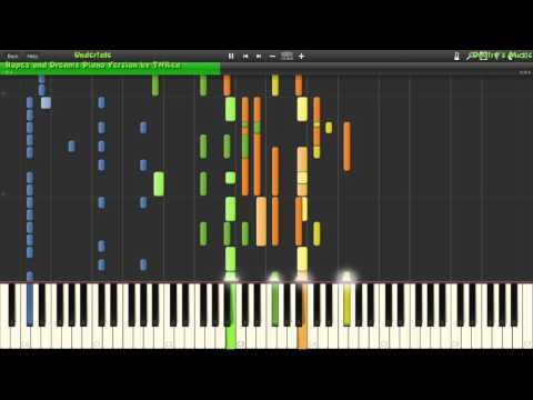 [Piano Duet] Undertale - Hopes and Dreams + His Theme ~ TNRea