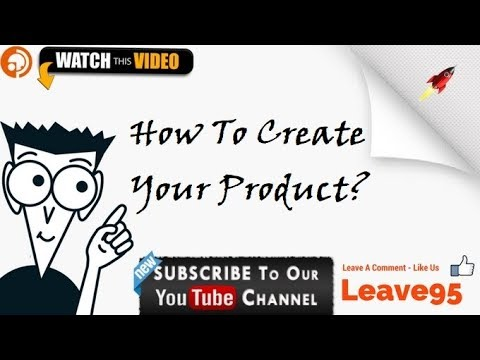 How to Create your Product