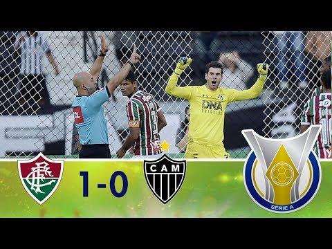Melhores Momentos - Fluminense 1 x 0 Atlético MG - Campeonato Brasileiro (21/10/2018)