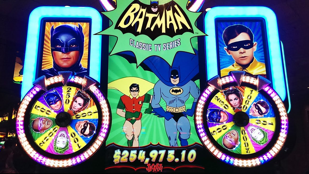 Batman slot machine locations homemade poker tables for sale