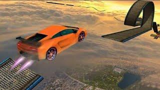 Impossible tracks stunt car racing fun