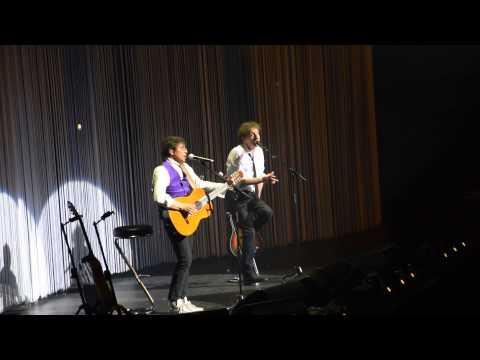 Alain Souchon & Laurent Voulzy - Le Rêve du Pêcheur (Live@Palais des Sports, Paris, 11 mai 2015)
