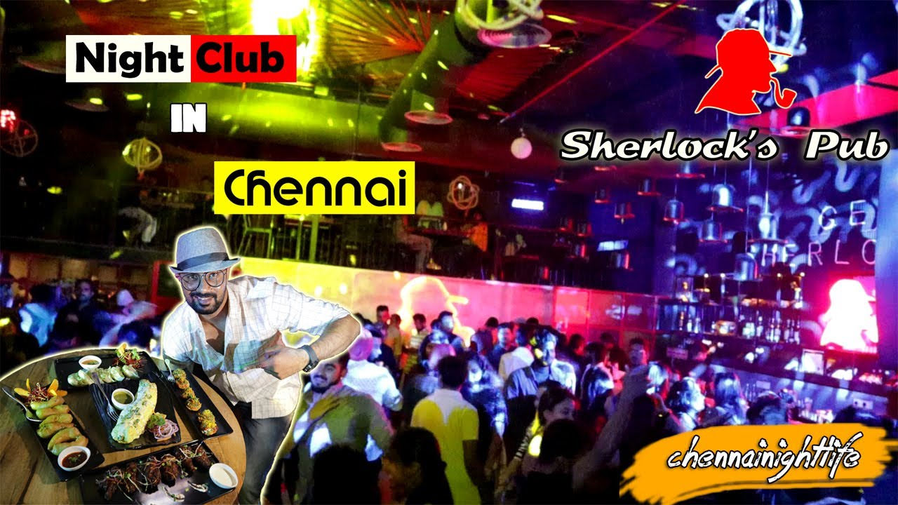 Best Nightclub in Chennai - Sherlock's Pub - YouTube