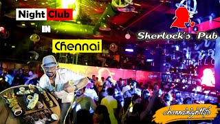 Best Nightclub in Chennai - Sherlock's Pub