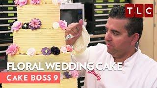 Floral Wedding Cake | Cake Boss 9 | Sweet AF Wednesdays