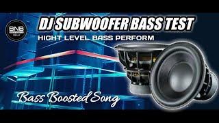 DJ SUBWOOFER BASS TEST - DJ CEK SOUND PALING ENAK SEPANJANG MASA FULL BASS GLERR