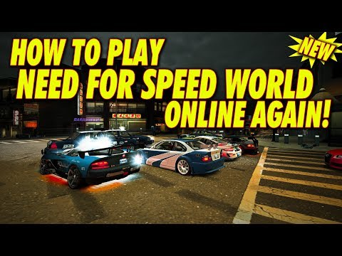 NEED FOR SPEED WORLD IS BACK! ( How To Play It Now! )