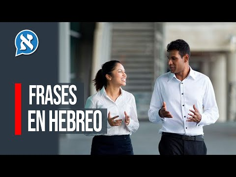 Aprende Hebreo Frases Y Palabras Más Importantes