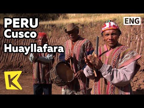 【K】Peru Travel-Cusco[페루 여행-쿠스코]와이야파라, 잉카체험 마을/Huayllafara/Inca Life Village/Quinoa/Farm/Food/Museum