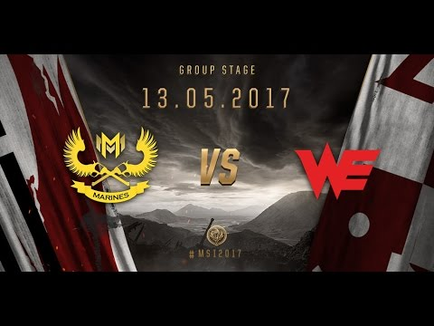 [13.05.2017] GAM vs WE [MSI 2017][Group Stage]
