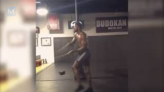 Randy Brown MMA Conditioning Training  Muscle Madness