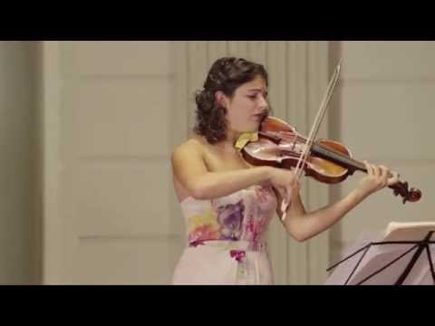 "Maia Cabeza - BIBER - ""Passacaglia"" for solo violin"