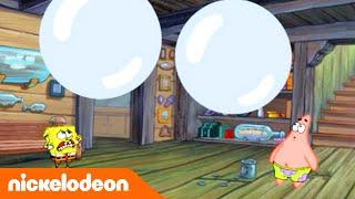 Губка Боб Золотые моменты | Покрасить стены | Nickelodeon Россия