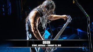 Metallica: Orion (MetOnTour - Sydney, Australia - 2013)