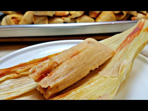 COOK WITH ME | HOW TO MAKE TAMALES | Bean And Cheese Tamales Recipe | How To Make Masa For Tamales
