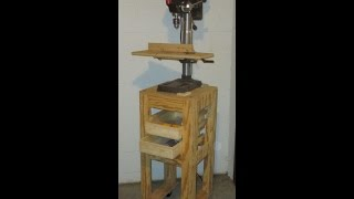 Mobile Drill Press Table
