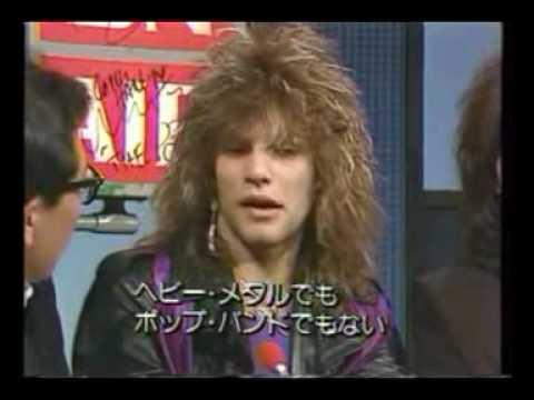 BON JOVI interview 1985