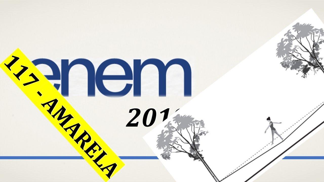 ENEM 2019 - Questão 117 (Amarela) - Ciências da Natureza
