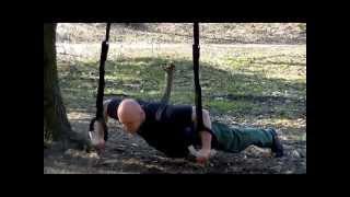 Gymnastic rings workout Тренировка с гимнастическими кольцами