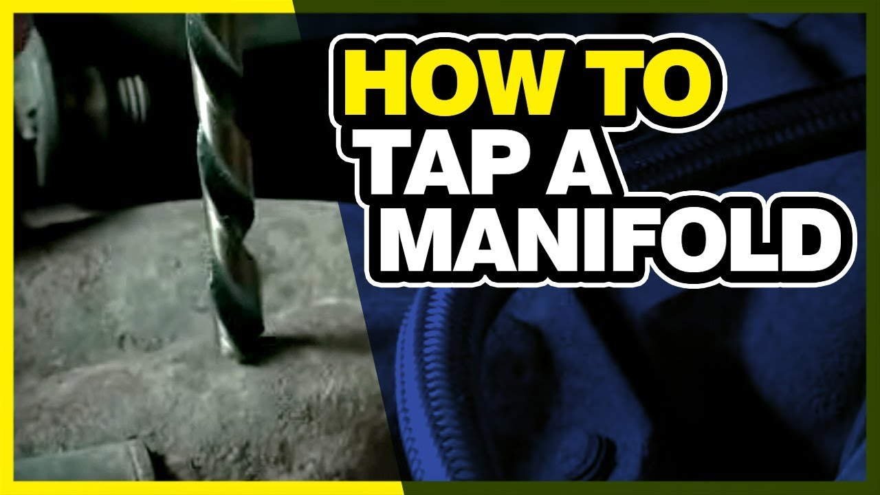 How To Drill and Tap Manifold for Gauges or Edge EGT Probe: Dodge Cummins