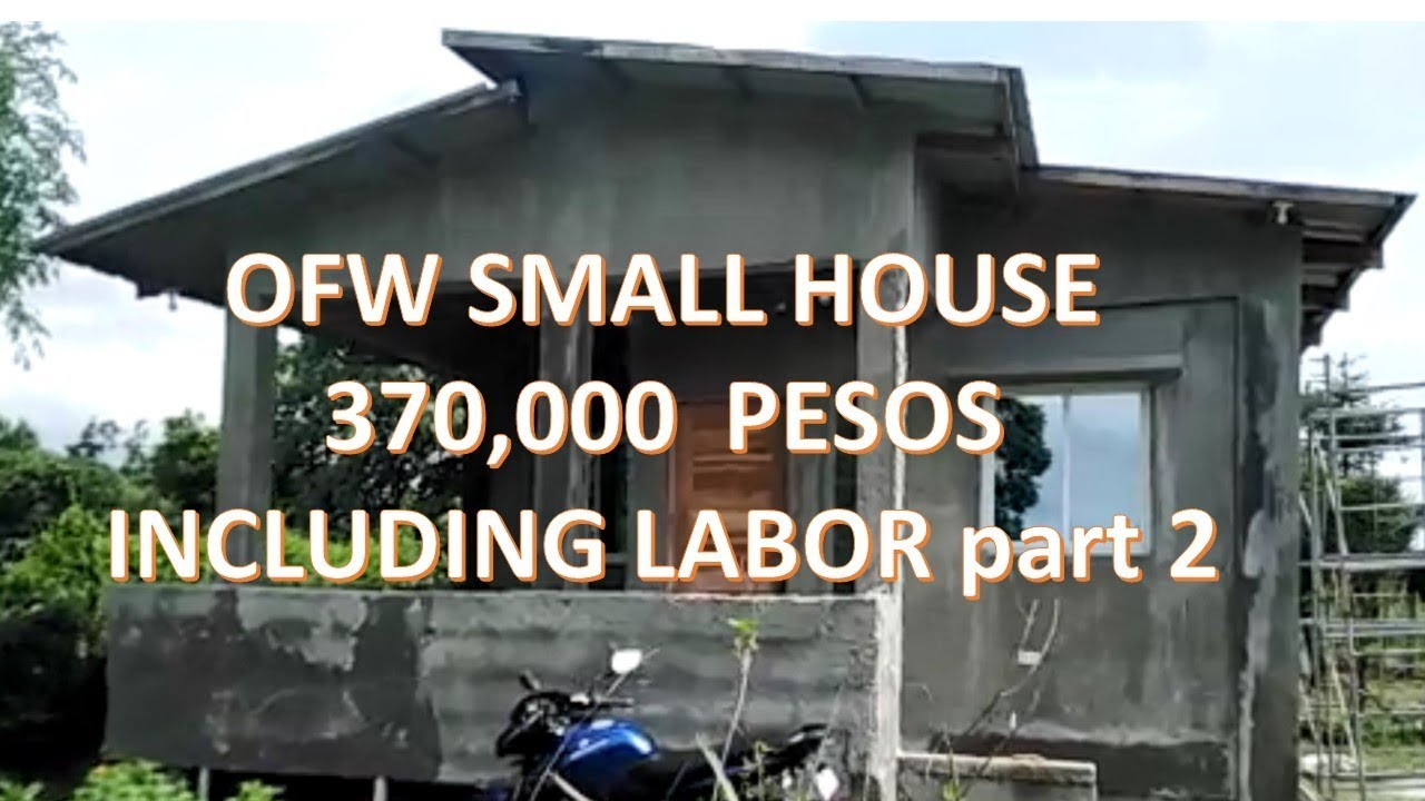 Tiny House In The Philippines A 1k Dollars 50k Pesos Monthly
