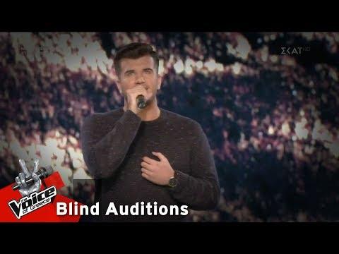 Στέφανος Βεζυργιαννόπουλος - Hurt | 10o Blind Audition | The Voice of Greece