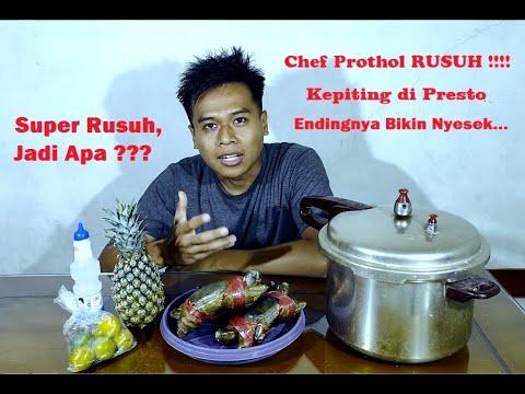Chef Prothol Rusuh Kepiting Di Presto Jadi Apa Youtube