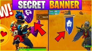 SECRET BANNER FORTNITE WEEK 10 SEASON 6! FORTNITE WEEK 10 SECRET BANNER LOCATION