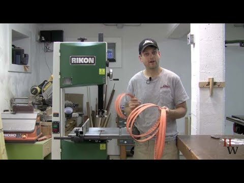 Wood Slicer Resaw Bandsaw Blade Product Tour Youtube