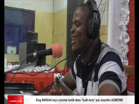 King MENSAH, le roi de la musique togolaise reçu par Joachim AGBETIME