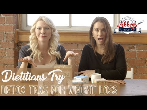 Dietitians Try DETOX TEAS for WEIGHT LOSS | TEATOX | Abbey Squared