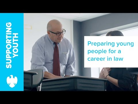 Preparing young people from underserved communities for a career in Law | Barclays