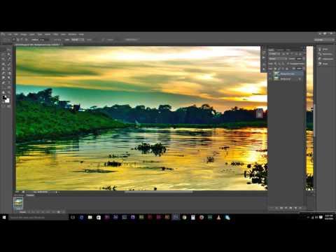 how to edit landscape photograph