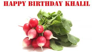 Khalil   Fruits & Frutas - Happy Birthday