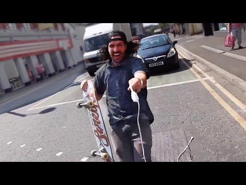 Traffic Skateboarding is Dangerous