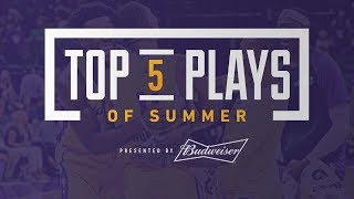 Lakers Top Plays of Summer