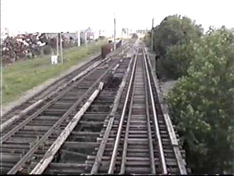 Railroad Switching Service of Missouri Freight Train on Illinois Terminal St. Louis Line