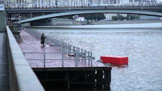 "Павел 183 и Павел З - инсталляция ""Кирпич""."