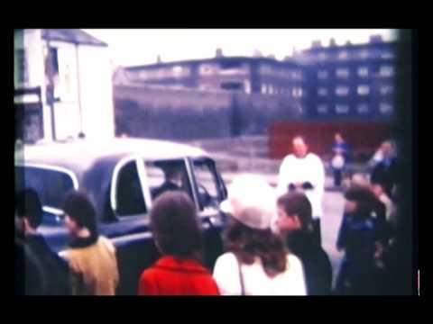 Sean McDermott St. Dublin. Circa '70. Bishop visit.