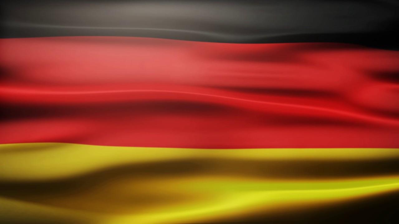 Germany Flag Waving Free Royalty Footage YouTube