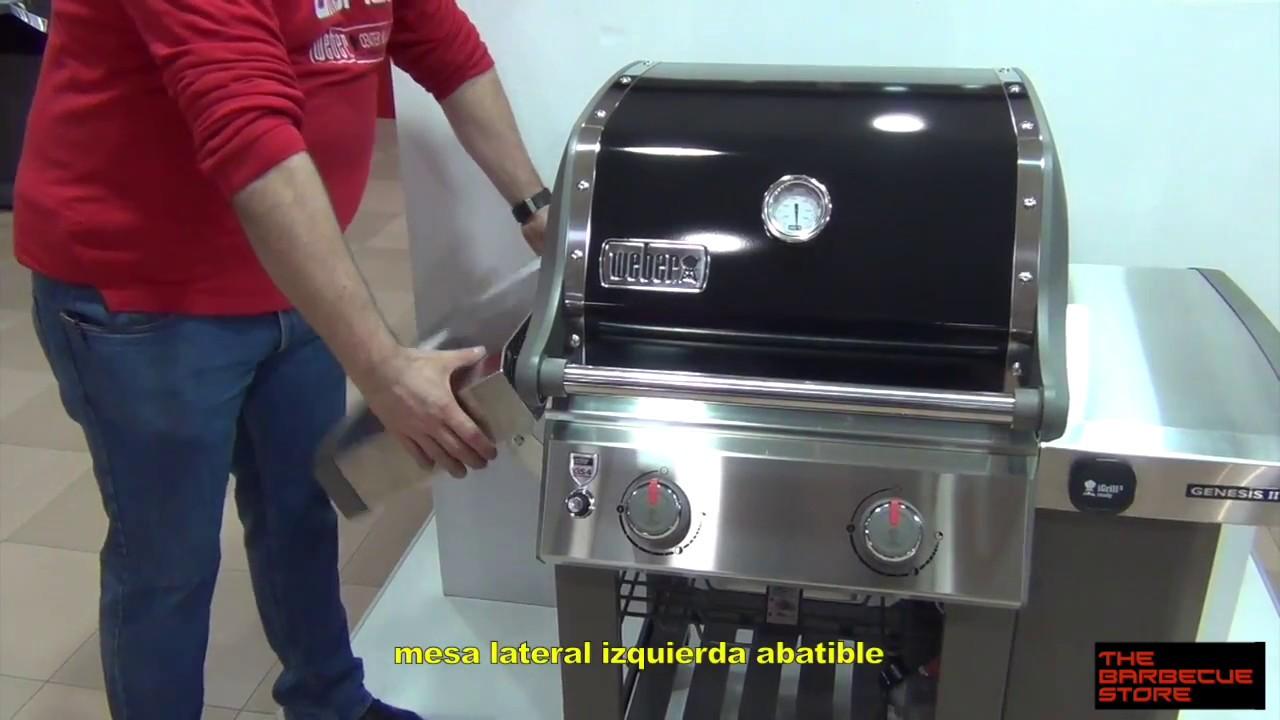 Großartig Barbacoa a gas Weber Genesis II E-210 - YouTube QY14