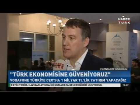 Vodafone Türkiye CEO'su Colman Deegan'ın #UEZ2017 Röportajı