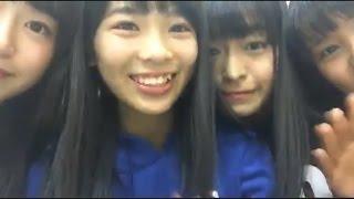 【NMB応援隊】 安田桃寧&5期生 × showroom 20161121