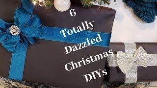 6 Totally Dazzled Christmas DIYs