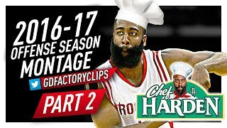 James Harden Offense Highlights Montage 2016/2017 (Part 2) - Fresh Recipes by Chef Harden!