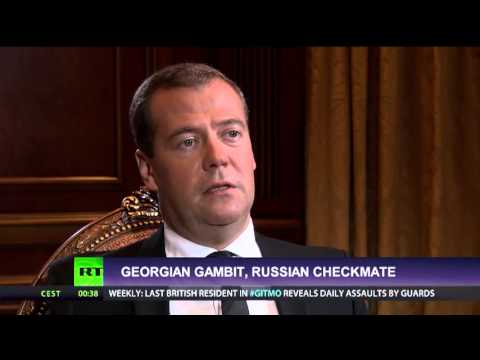 Dmitry Medvedev's interview to Russia Today TV channel