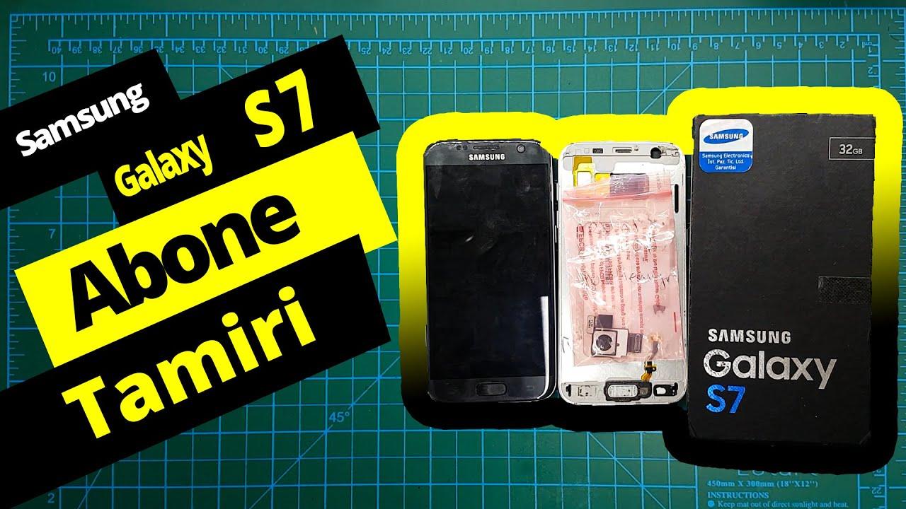 AMASYA - ESKİŞEHİR | Samsung S7 Tamir Anakart Ekran Tadilat