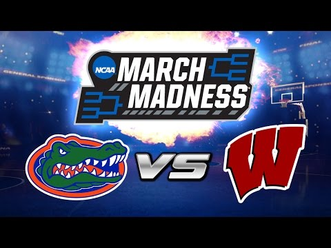 FLORIDA vs WISCONSIN | NCAA March Madness Prediction | NBA Live Mobile vs NameIsChase!